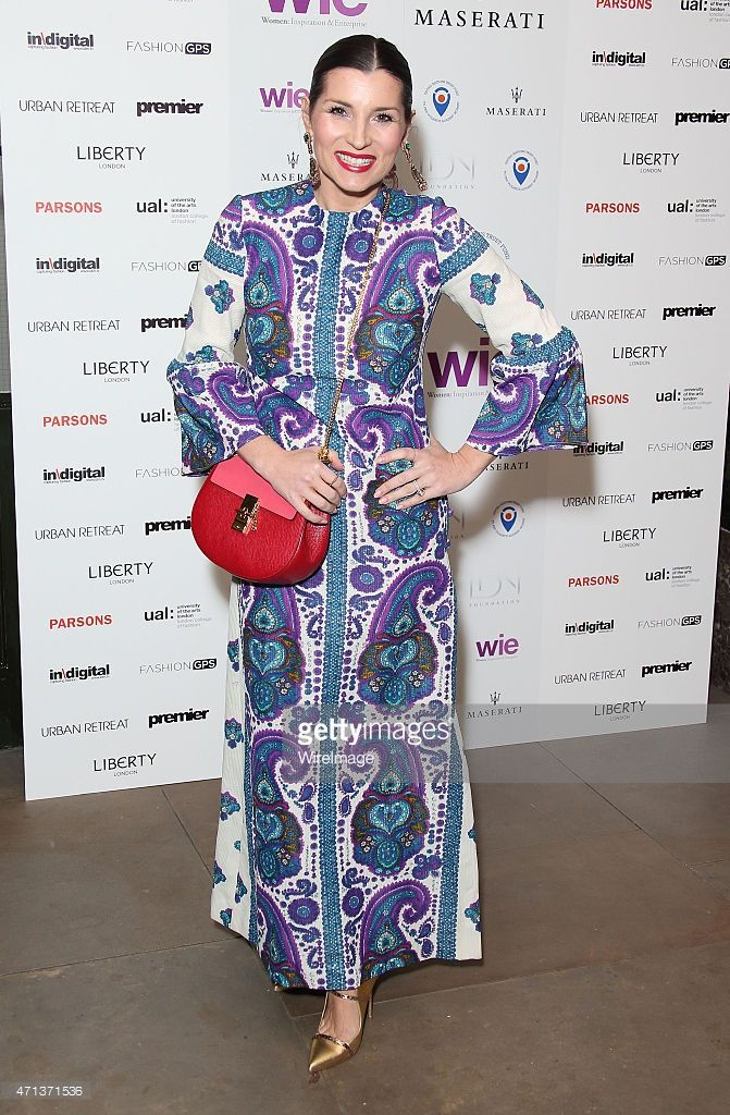 Grace Woodward attends the LDNY Fashion show and WIE Award Gala at Goldsmiths' Hall on April 27, 2015 in London, England.