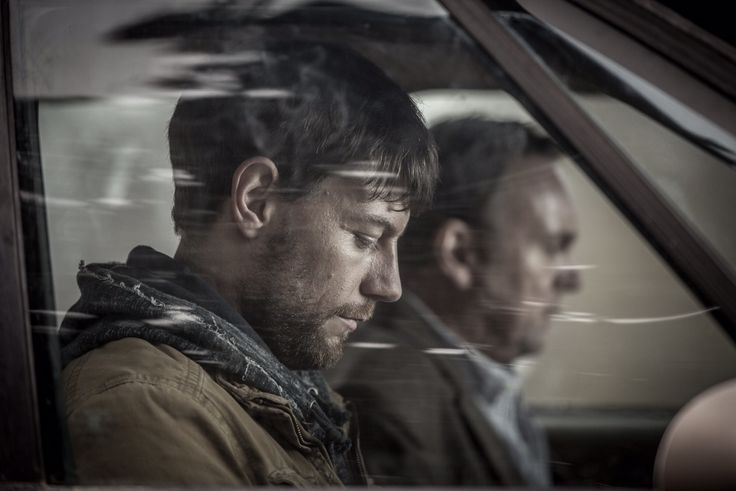 Patrick Fugit and Philip Glenister in Outcast (2016)