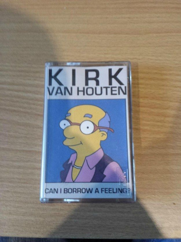 "This demo tape. | 29 Jokes Only ""Simpsons"" Fans Will Find Funny"