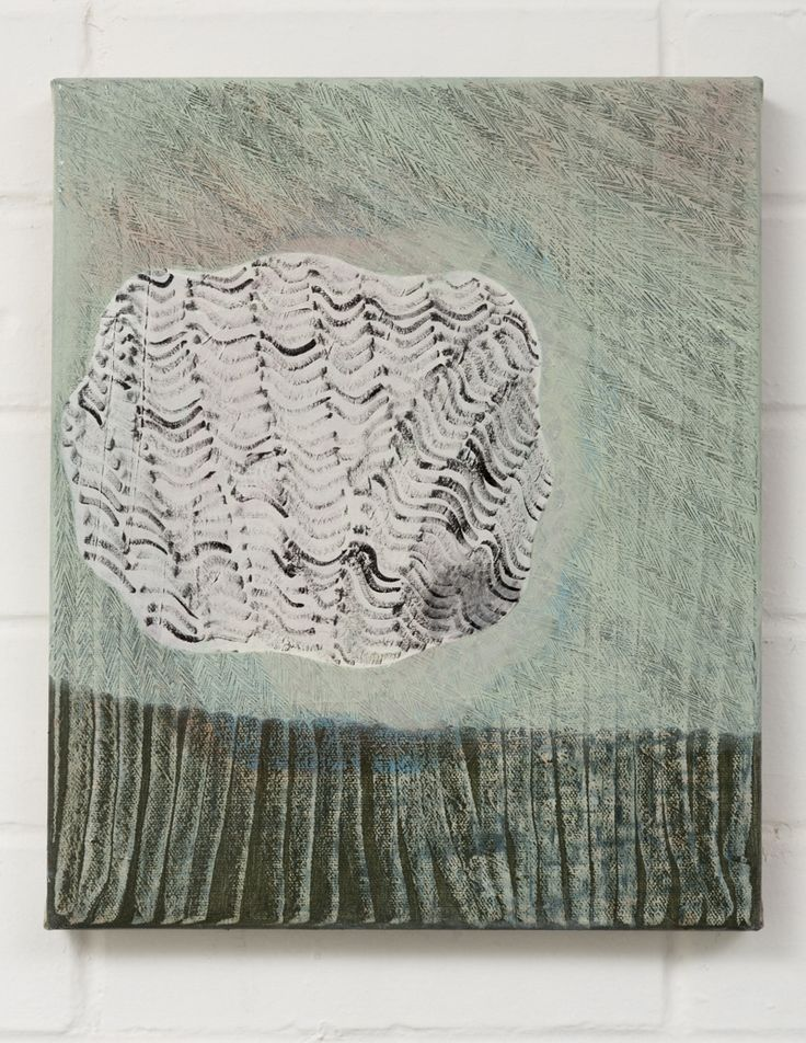 Adrienne Vaughan, Nosmo, 2014, Oil on canvas, 300 x 250mm