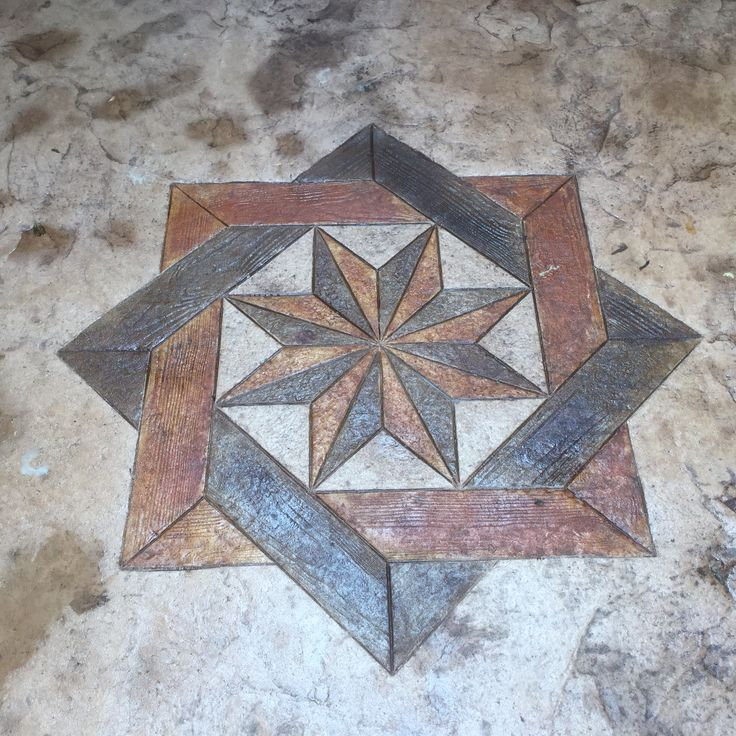 Stamped Concrete Medallions : Best images about stamped concrete patio on pinterest
