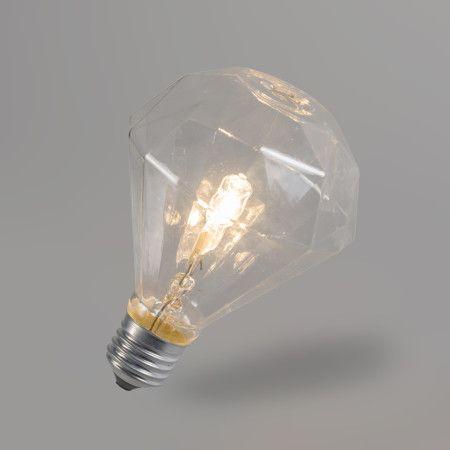 Halogenlampe Diamant E27 230V 42W: #halogenlampe #dekorativ #innenbeleuchtung #leuchtmittel