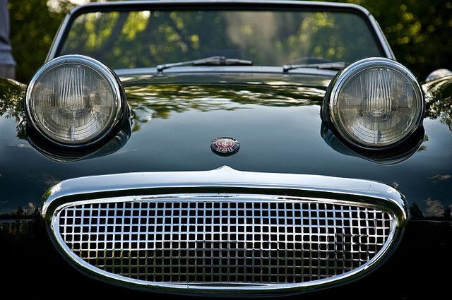 """Austin Healey Sprite """"Frogeye"""" 1959  The material which I can produce is suitable for different flat objects, e.g.: cogs/casters/wheels… Fields of use for my material: DIY/hobbies/crafts/accessories/art... My material hard and non-transparent. My contact: tatjana.alic@windowslive.com web: http://tatjanaalic14.wixsite.com/mysite"""