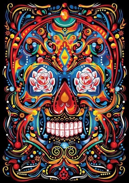 1195 Best Skulls Images On Pinterest
