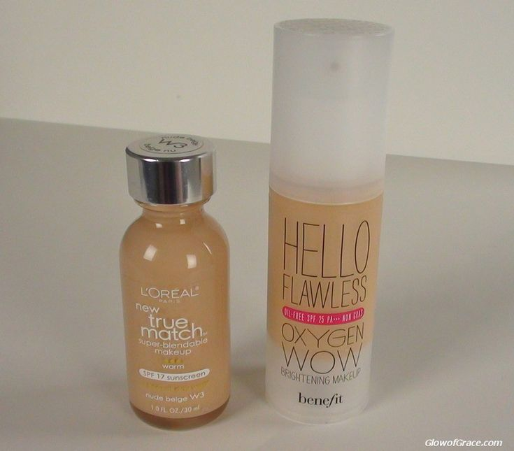 foundation dupe. Benefit's $36 foundation Hello Oxygen Wow can be compared to Loreal's $10.95 True match Foundation. Same consistency, coverage, finish.