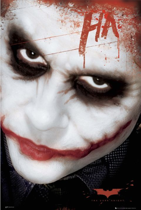 Joker - Batman Mroczny Rycerz - plakat