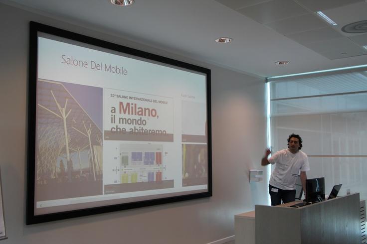 Salone del Mobile: Applicazione di esempio creata con G! MakeApp by GAROO!
