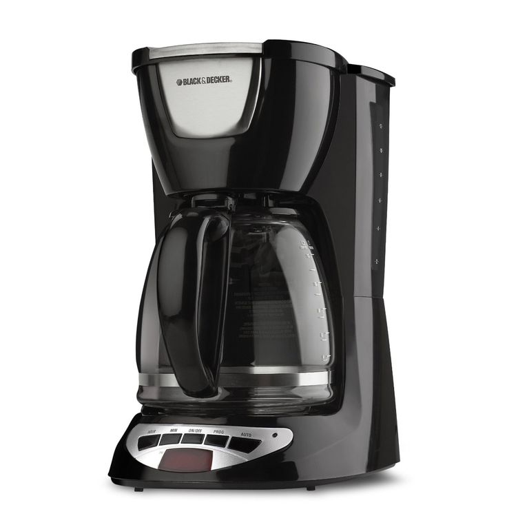 & Decker 12-cup Programmable Coffeemaker