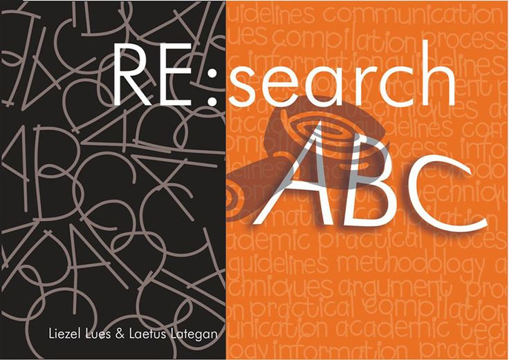 RE:search ABC highlights contemporary practices and provides a framework for an up-to-date understanding of the research process and the key issues associated with it. It integrates a number of imperative topics, including the writing of a research protocol, the applying of methodology in research projects, the respective roles of the supervisor and student, the writing of a scientific article and the presenting of research results. The analysis draws upon both theory and real case studies.