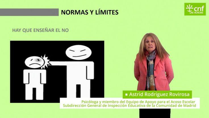 Ideas erróneas sobre normas y límites Astrid Rodriguez Rovirosa