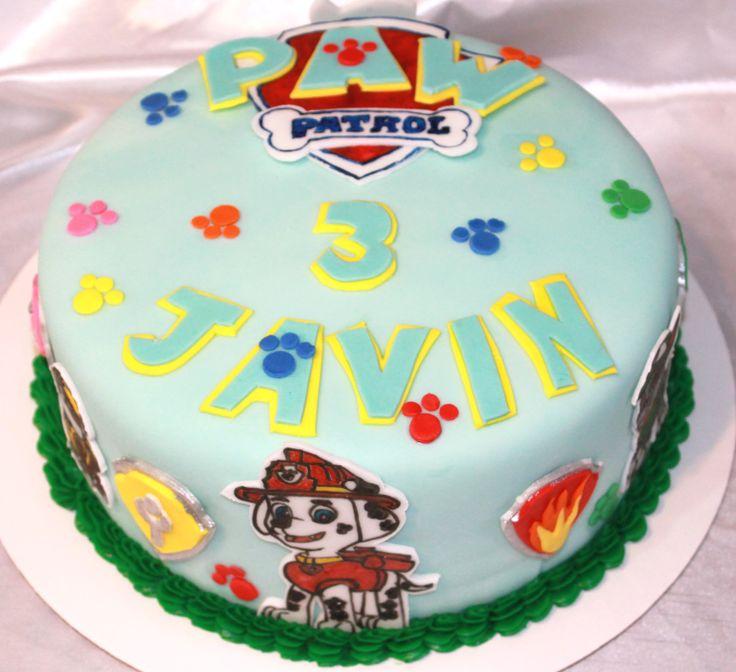 Paw patrol cake4th birthday birthday parties cake ideas patrol