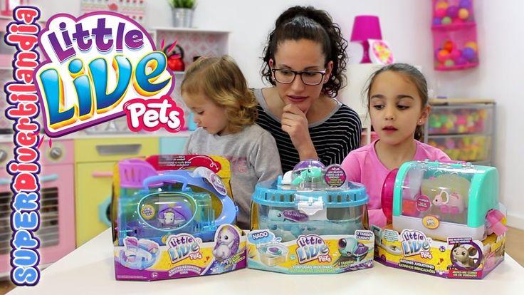 Erizo, Tortuga y Ratón de Little Live Pets! Mascotas de juguete en SUPER...