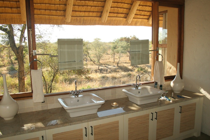 Bathroom on a private lodge in Klaseri