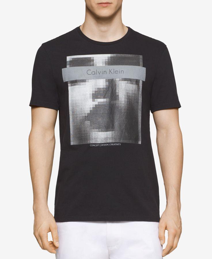 Calvin Klein Men's Ck One Photo Graphic-Print T-Shirt