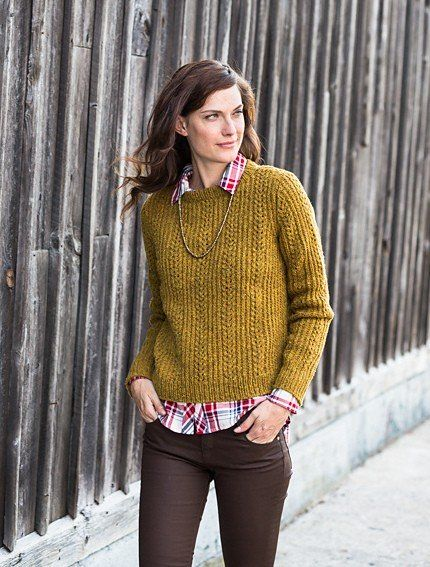 Brooklyn Tweed Pattern Docklight Pullover