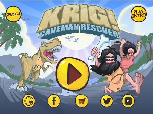 In a world before history… KRIG the caveman spends his days hunting along with his prehistoric partner, KRELDA. After a beautiful day fishing, to KRIG the caveman's surprise and heartbreak, KRELDA is kidnapped by a big nasty dinosaur! It is now up to YOU to help KRIG the caveman rescue his love.  After a graphic intensive comic-book like intro, players find themselves in the throes of an epic prehistoric adventure – right in the heart of the dinosaur's den. In order to advance t...