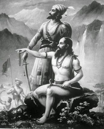 Sant Ramdas संत रामदास Ramdas was one of the greatest saints of the world. He was the inspirer of Shivaji. He was born of Suryaji Panth and Renuka Bai in Jamb, Maharashtra, in 1608 A.D. His original name was Narain. Ramdas was a contemporary of Sant Tukaram. He was a great devotee of Hanuman and Lord Rama. He had Darshan of Lord Rama even when he was a boy. Lord Rama Himself initiated him. As a boy, Ramdas acquired some knowledge of the Hindu scriptures and developed a liking for meditation…