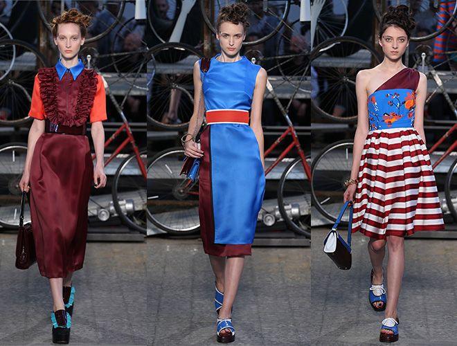 Marsala es el color de moda del 2015, descubre cómo combinarlo para ir a la última! Con azul en Antonio Marras s/s 2015 http://bcncoolhunter.com/2015/01/marsala-color-de-moda-2015-sabe-a-vino-simbolo-seguridad-y-armonia/