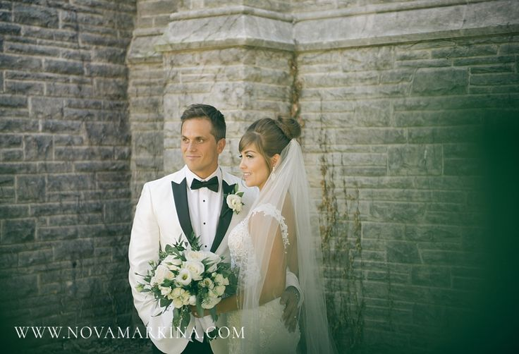 Beautiful, Pensive Bride and Groom || Wedding Photography Inspiration || NovaMarkina Photography || See more of this Liuna Station Wedding here: http://www.novamarkina.com/blog/liuna-station-wedding-photography-k-a