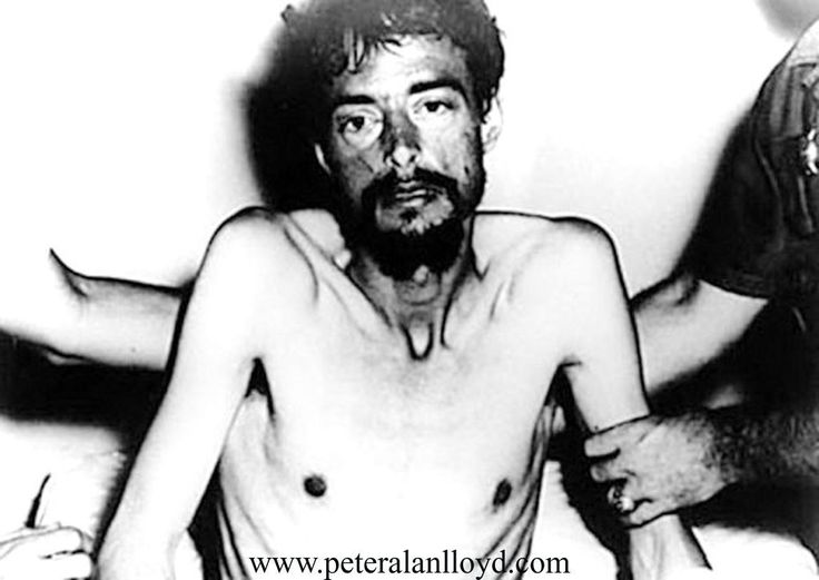 Dieter Dengler just after his rescue. This below is adapted from an article by Zoe Brennan in the Daily Mail, about the ONLY American POW ever to escape from Laos, out of what some people believe w…