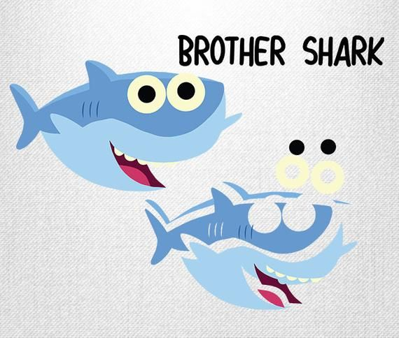 Baby Shark Svg Simple Song Baby Shark Daddy Shark Mommy