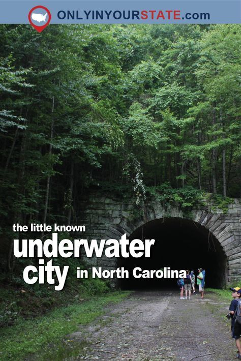 Travel | North Carolina | Underwater City | Urban Exploration | Ghost Town | Creepy | Historic Places | Ghost City