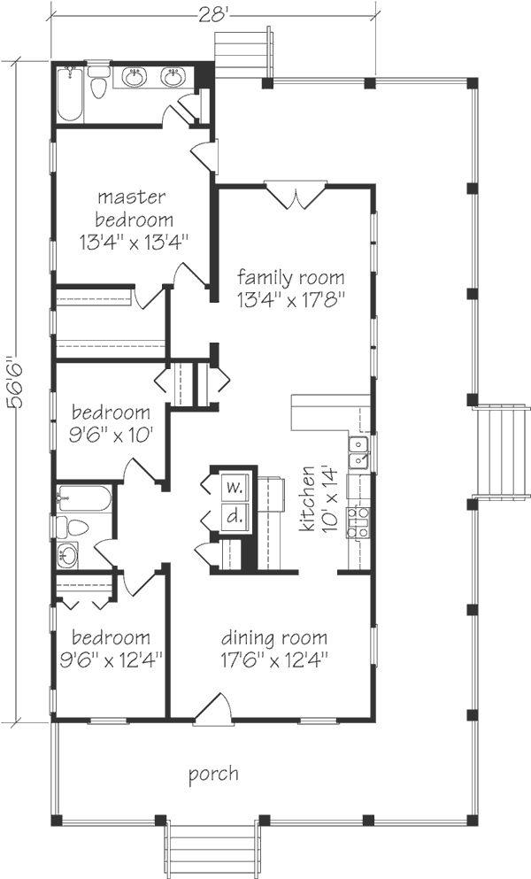 Excellent 17 Best Ideas About Cottage Floor Plans On Pinterest Small Floor Largest Home Design Picture Inspirations Pitcheantrous