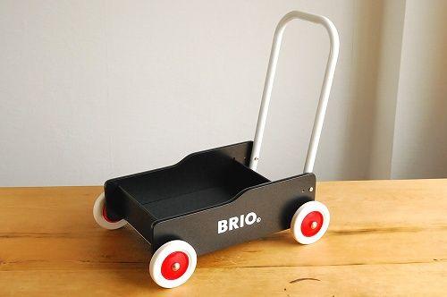 BRIO/ブリオ/おもちゃ/手押し車(黒) - 北欧雑貨と北欧食器の通販サイト  北欧、暮らしの道具店