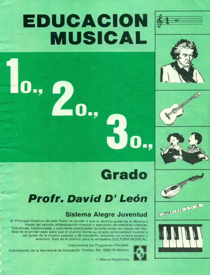 Educación Musical - Alegre Juventud - David D León