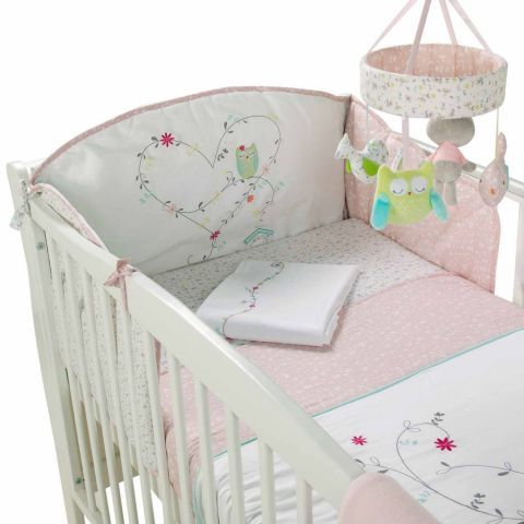 kiddicare woodland wishes 5 piece bedding set