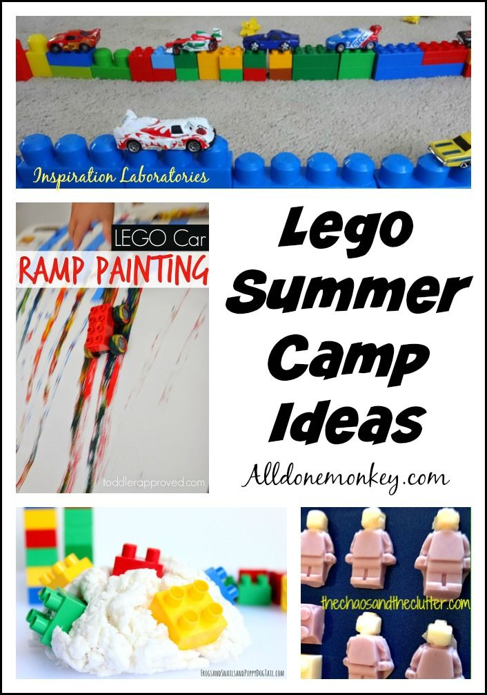 Lego Summer Camp Ideas - ideas to create your own LEGO camp!