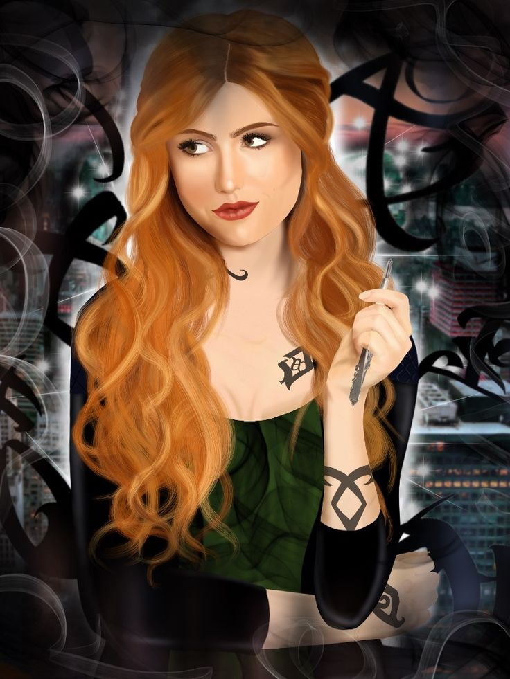Drawn by Hedvig ...  clarissa 'clary' fray, the mortal instruments, shadowhunters