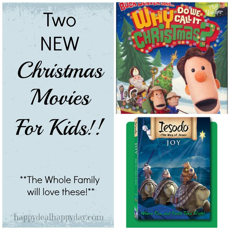 Two New Christmas Movies for Kids | Iesado Joy & Why Do We Call It Christmas DVDs.   Finally some more movies teaching kids about the true meaning of Christmas!!!!!