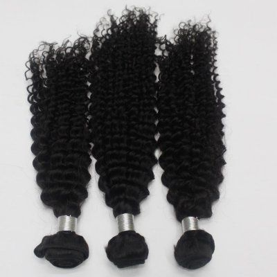 3 Pcs/Lot New Star Wholesale Price Virgin 100% Human Brazilian Deep Curly Hair Extensions
