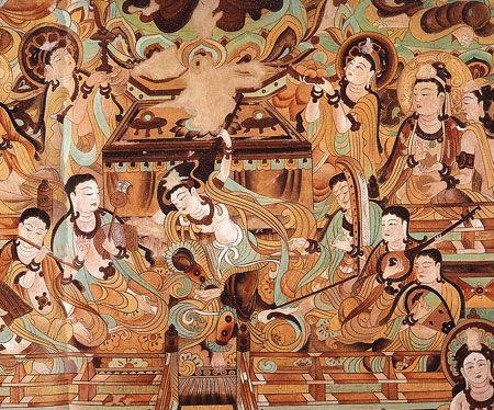 dunhuang caves - Google Search                                                                                                                                                                                 More