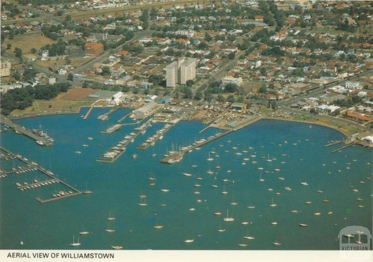 Aerial view of Williamstown