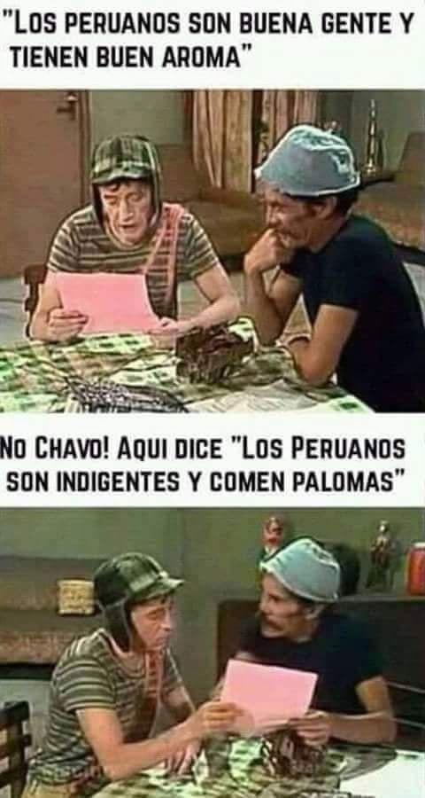 Peruanos y sus costumbres