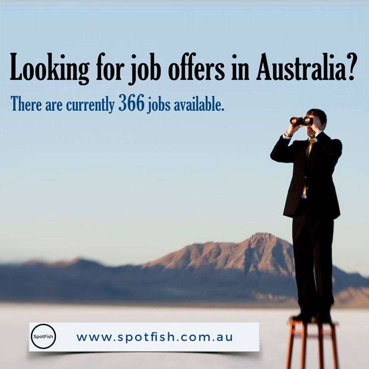 If You are looking for #jobs in Australia? SpotFish is #Australia's number one…