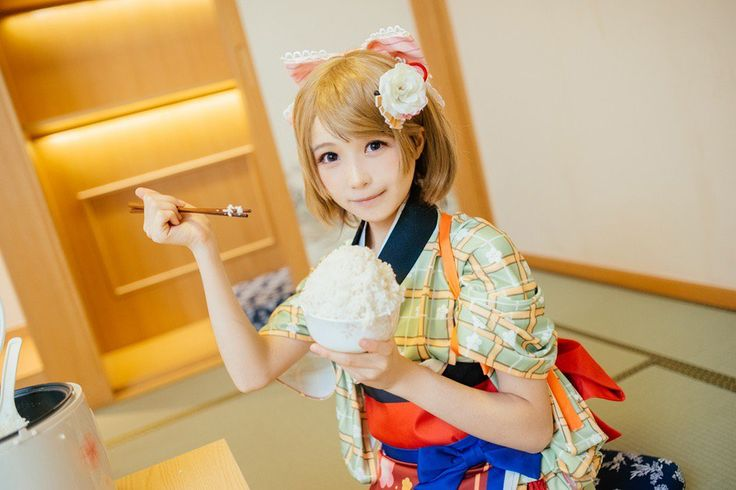 character :小泉花陽Koizumi Hanayo  /  cosplayer :aho@罗人类