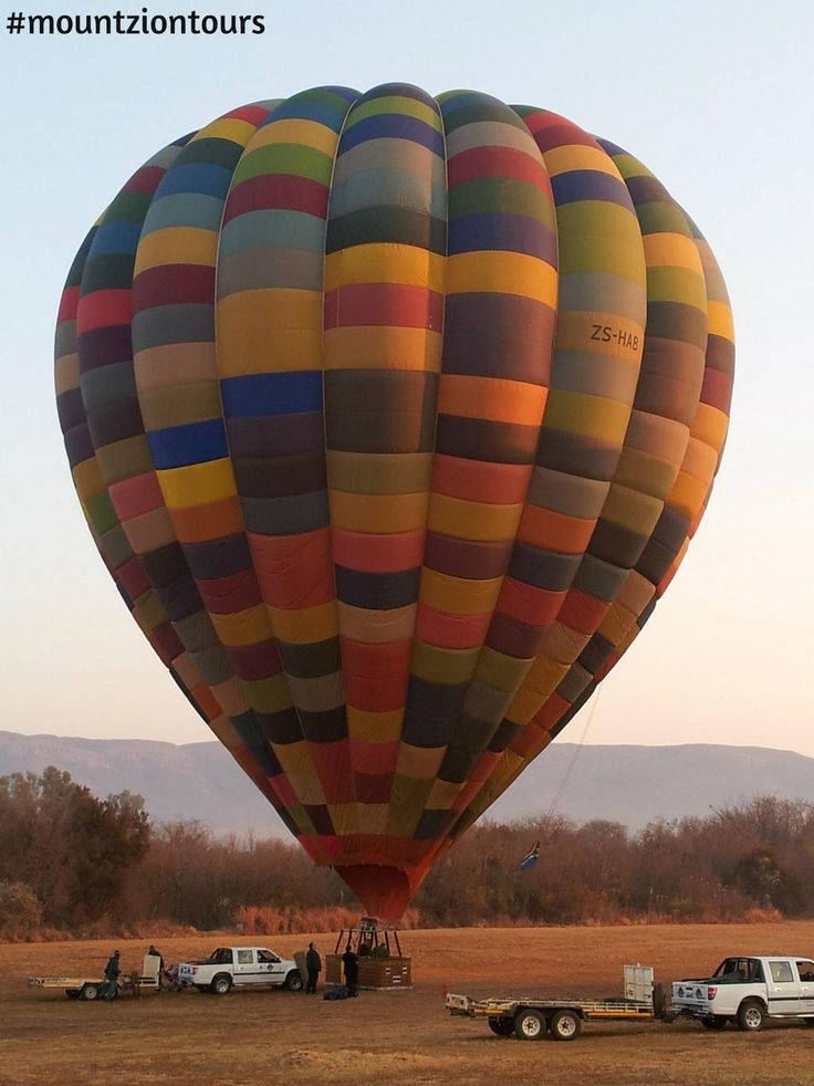 See #Pilanesberg like you've never seen it before in a hot air balloon with #mountziontours.