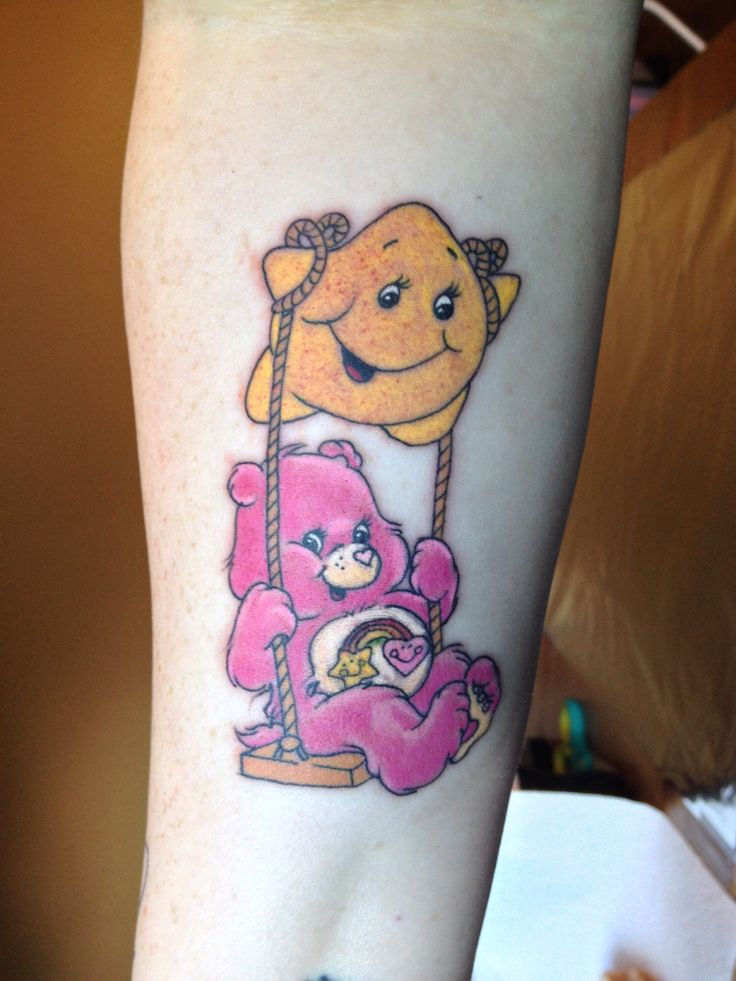 My care bear tattoo!!!