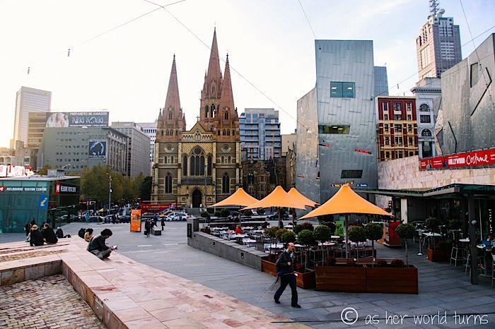 Federation Square, Melbourne Australia Travel