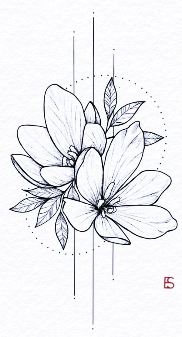 40 Cool And Simple Drawings Ideas To Kill Time Cartoon District Flower Drawing Drawings Flower Sketches