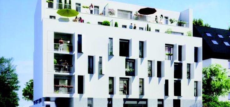 Découvrez un programme immobilier neuf proche de #Rennes, un programme éligible à la Loi Duflot