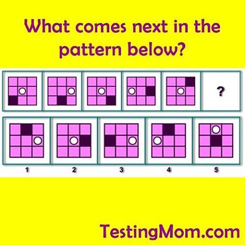 Complete the pattern! #wiscv #test