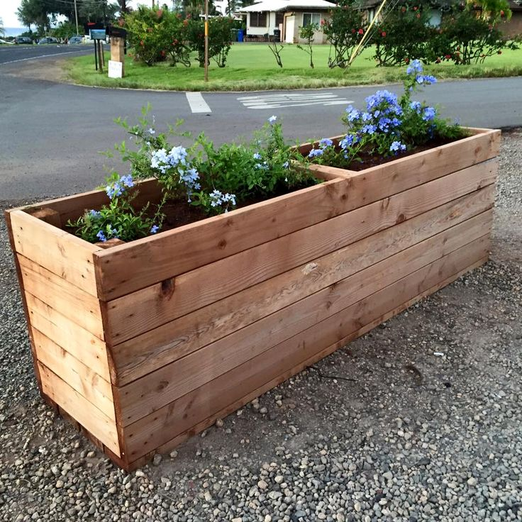 Upcycled Wood Pallet Planter Box | Pallet Furniture