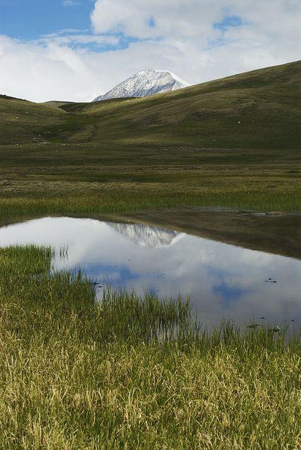 Mongolia looks like Wyoming.