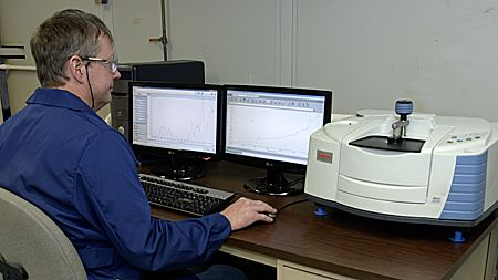 Fourier Transform Infrared Spectroscopy (FTIR Analysis or FTIR Spectroscopy) is an analytical technique used to identify organic, polymeric, and in some cases, inorganic materials.