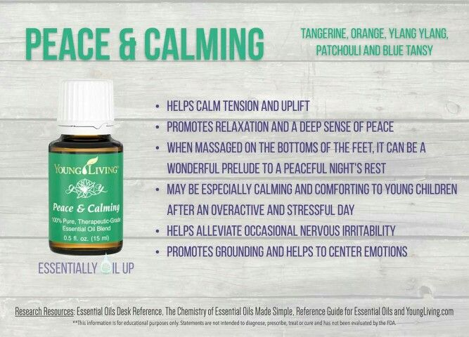 14 best images about Peace & Calming - Young Living on ...