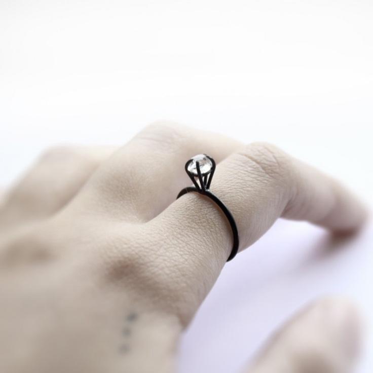 wedding ring: Silver Diamonds, Diamonds Rings, Silver Wedding Band, Sterling Silver Rings, Diamonds Oxidized, Oxidized Sterling Silver, Herkim Diamonds, Oxidized Silver, Engagement Rings